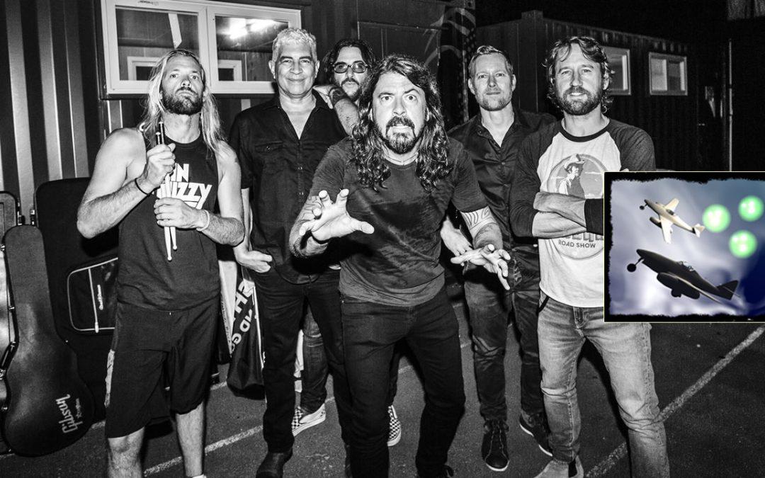 Dave Grohl de la banda Foo Fighters: «lo que sucede con los OVNIs no es nada nuevo»