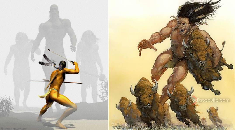 La leyenda de los gigantes Si-Te-Cah