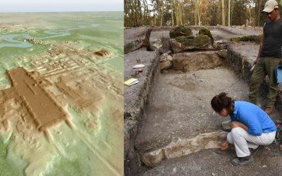 Hallan cientos de sitios mayas antiguos ocultos a plena vista bajo México