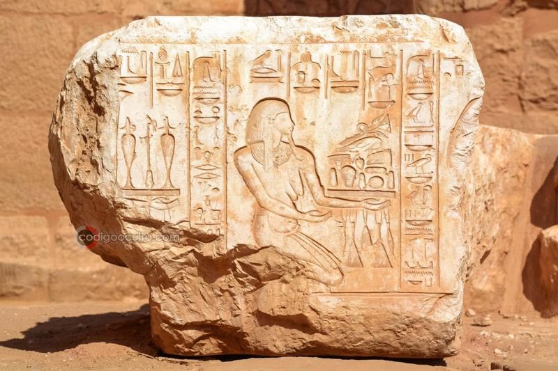 Templo de Ramsés III, Medinet Habu, Egipto