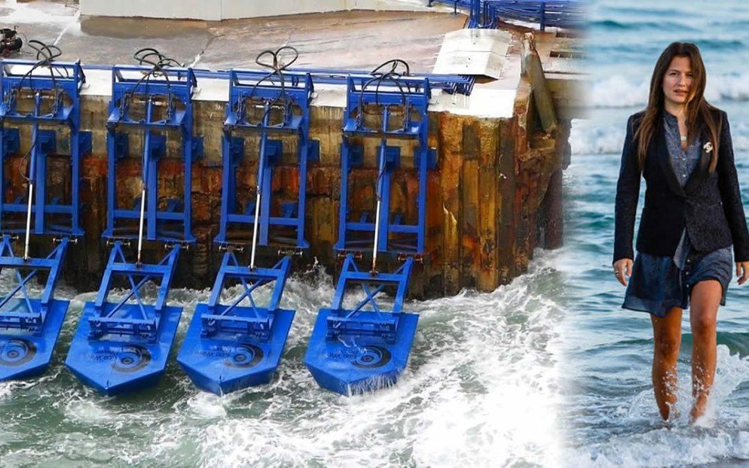 Joven inventora desarrolla mecanismo que genera energía usando olas del mar