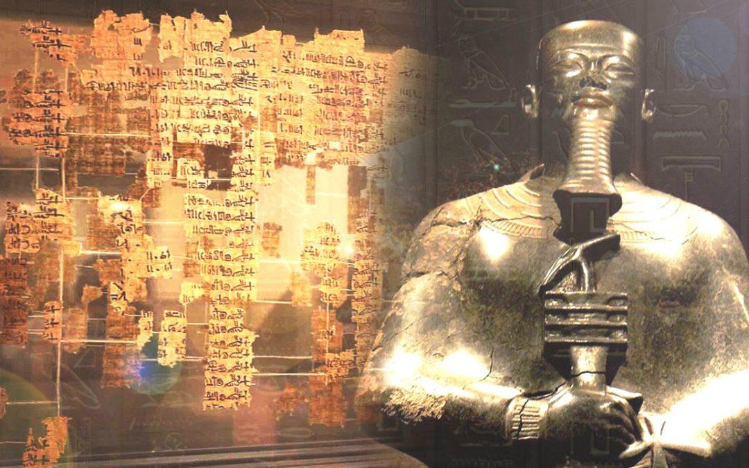 """Lista de Reyes de Turín: Papiro revela """"seres"""" que descendieron del cielo y gobernaron 36.000 años"""