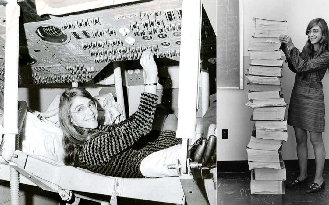 Margaret Hamilton, la pionera ingeniera de software que hizo posible la misión Apolo