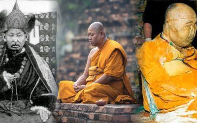 """El caso del monje budista """"muerto"""" hace más de 90 años y que se mantiene muy bien preservado"""