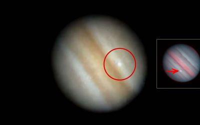 Misterioso objeto choca nuevamente contra Júpiter. Astrónomos japoneses capturan brillante destello