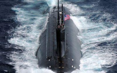 Submarino nuclear de la Armada de EE. UU. choca con Objeto No Identificado