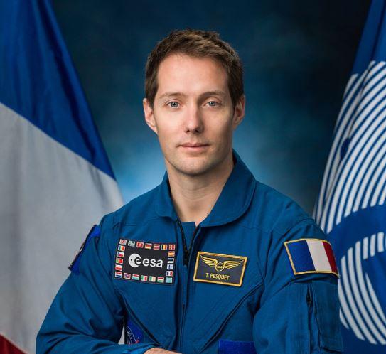 El astronauta Thomas Pesquet