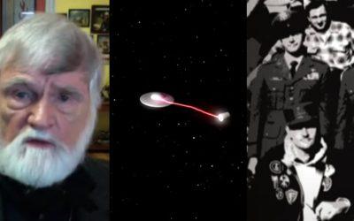 """""""Vi un No Identificado disparar cuatro rayos de luz a un misil nuclear, desactivándolo"""", revela ex teniente de la Fuerza Aérea"""