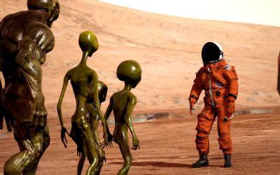 Y si encontramos una civilización alienígena menos avanzada… ¿Qué ocurriría?